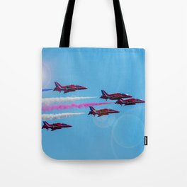 ARROWS IN FLIGHT Tote Bag