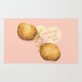 Food Pun - Potato Romance Rug