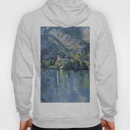 """Paul Cezanne """"The Lac d'Annecy"""", 1896 Hoody"""