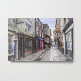 The Shambles York Art Metal Print