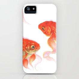 Goldfish Dabi iPhone Case