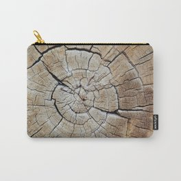 Tree rings of time Carry-All Pouch