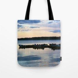 Pastel Dockside Tote Bag