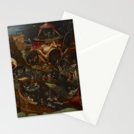 CHRIST IN LIMBO - HIERONYMUS BOSCH  Stationery Cards