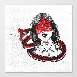 Snake Charmer Canvas Print