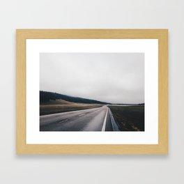 Entrance Road - Grand Canyon North Rim Framed Art Print