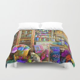 Kitty Heaven Duvet Cover