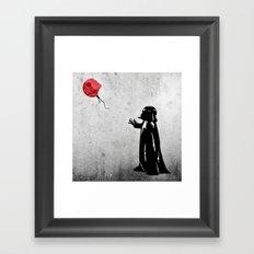 Little Vader - Inspired by Banksy Framed Art Print