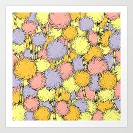 Truffula Art Print