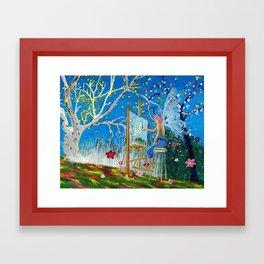 Fairy Artist Framed Art Print