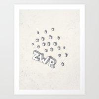 ZWR sugarcubes Art Print