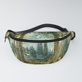 """Diego Velázquez """"View of the Garden of the Villa Medici in Rome (The Sleeping Ariadne)"""" Fanny Pack"""