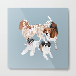 Barclay, Rhett, Ozzie and Gus Metal Print