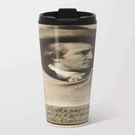 Vintage poster - Johann Wolfgang con Goethe Travel Mug