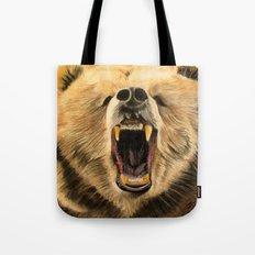 Roaring Bear Tote Bag