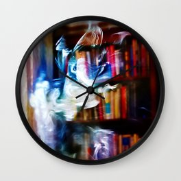 Painting with Smoke - Koala Bear Wall Clock
