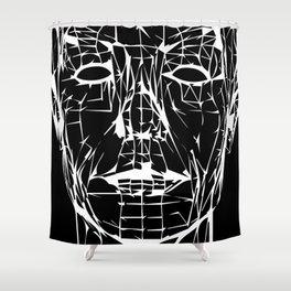 Electric Café Shower Curtain
