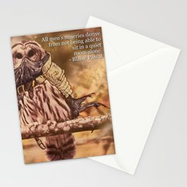 Birds In Armor Stationery Cards