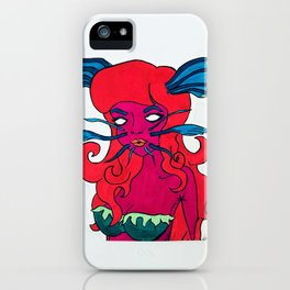 Catfish Girl iPhone Case
