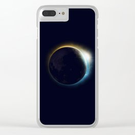 Eclipse Clear iPhone Case