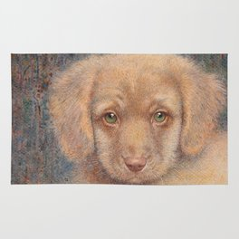 Retriever puppy Rug
