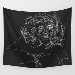 Connection by Sher Rhie Wall Tapestry