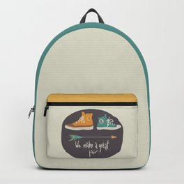 We make a great pair. Hipster's love Backpack