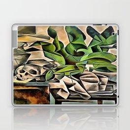 Still life with Skull After Bohumil Kubista Laptop & iPad Skin