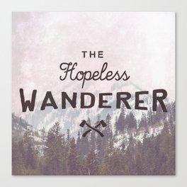 The Hopeless Wanderer Canvas Print