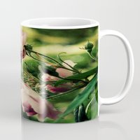 the lights Mugs featuring Lights by Luiza Lazar