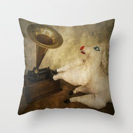 His Masters Sheep Throw Pillow