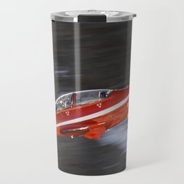 Red airplane Travel Mug
