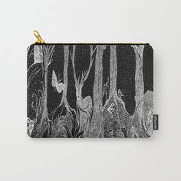 Animals In The Forest Carry-All Pouch