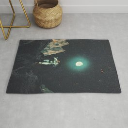 Searching for Happiness out of this Transitional World Rug