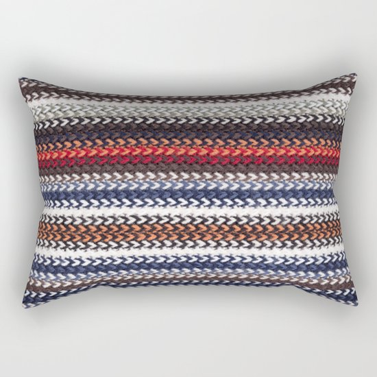 Texture laine Rectangular Pillow