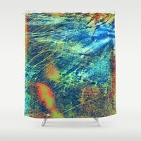 paper towns Shower Curtains featuring Paper by RDKL, Inc.