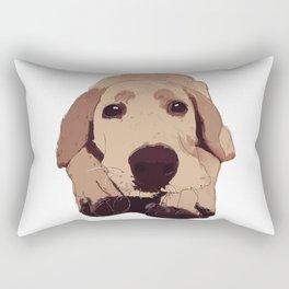 Golden Labrador Rectangular Pillow