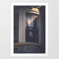 victorian Art Prints featuring Victorian by Charley Zheng