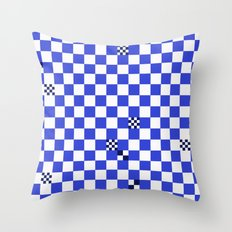 The tiler's odd sense of humor  Throw Pillow