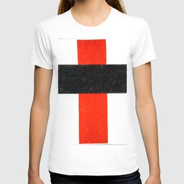 Kazimir Malevich - Hieratic Suprematist Cross (new editing) T-shirt