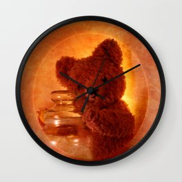 My Teddy Bear Wall Clock