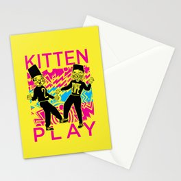 Kitten Play Stationery Cards