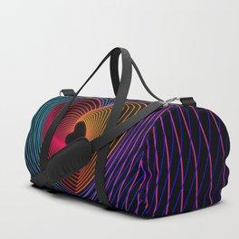 Colourful Love Duffle Bag