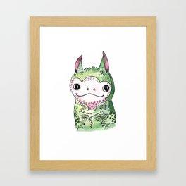 Baby Dragon Framed Art Print