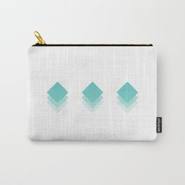 Fading Geometry  Carry-All Pouch