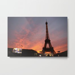 Mesmerized in Paris Metal Print