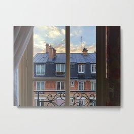 VIEWING PARIS Metal Print