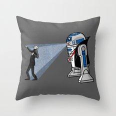 NOS4-R2 (star war dracula) Throw Pillow
