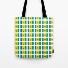 flag of Saint Vincent and the Grenadines-Saint Vincent,Grenadines,Vincentian, Vincy,Kingstown Tote Bag