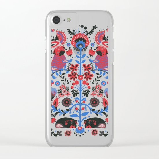 The Pug of Folk Clear iPhone Case